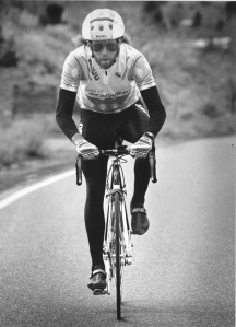 The Mighty Dog, circa 1990, riding for the Sangre de Cristo Cycling Club in Santa Fe, NM.