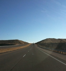 I-25 in New Mexico.