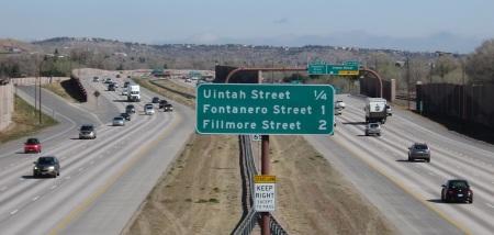 I-25 at 10 a.m.