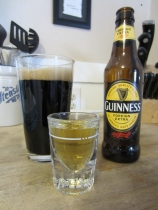 Guinness and Bushmills