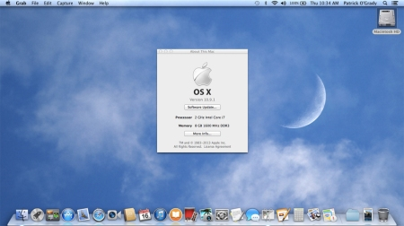 So far, so good. Two more OS updates and we'll have a casual relationship with the 21st century.