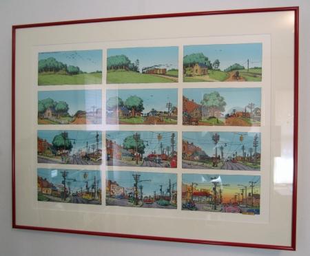 """Robert Crumb's """"A Short History of America."""""""