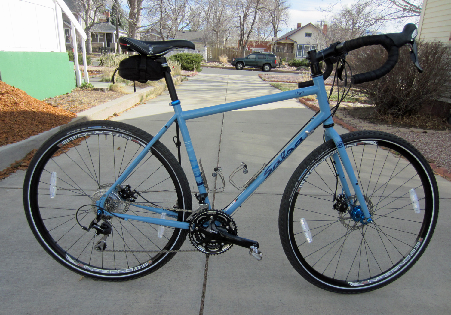 salsa vaya The Salsa Vaya, coming to an Adventure Cyclist issue near you.