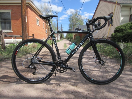 The Bianchi Zurigo Disc, coming soon to a Pikes Peak Greenway Trail near you.