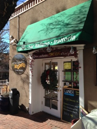 We got our java on at Mangiamo Pronto in Santa Fe.