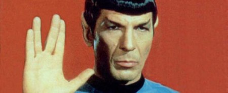 Mr. Spock, everyone's favorite green-blooded, pointy-eared freak.