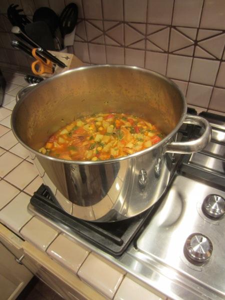 Spanish vegetable soup