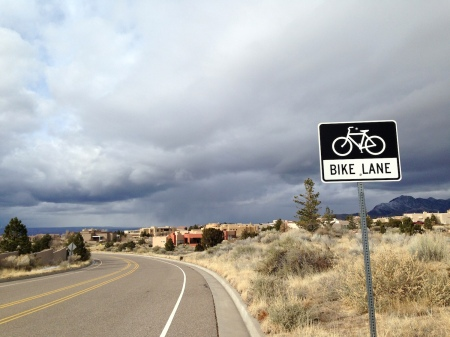 The High Desert neighborhood makes a fine proving ground for touring machinery, with rolling terrain, light traffic and bike lanes.