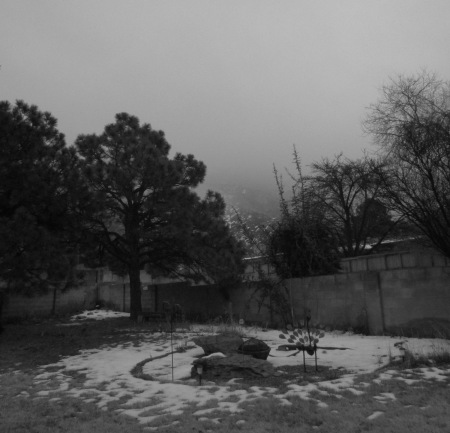 The Sandias are out there somewhere.