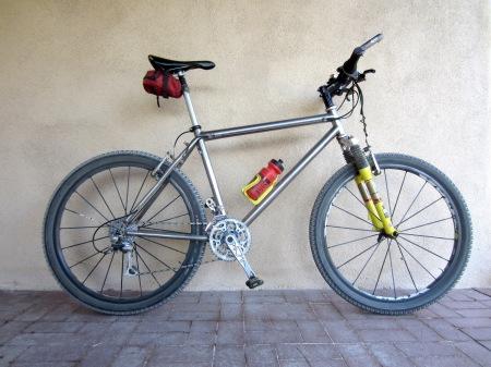 The old DBR mountain bike