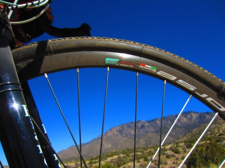 The Bianchi Zurigo Disc is just the thing for the Elena Gallegos trails.