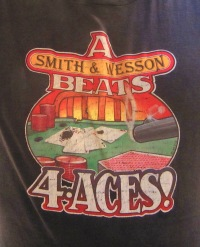 Even the dumbest casino guy knows a Smith & Wesson beats four aces.