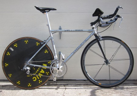 Steelman time-trial bike