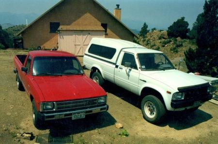 The 1983 Dogmobiles.