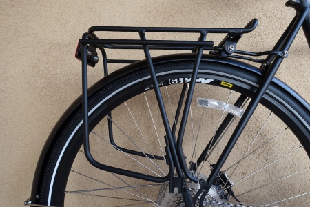 Rear rack on the Jamis