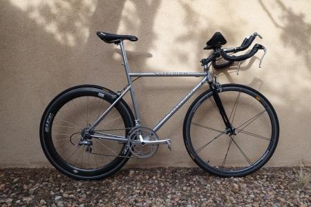 Steelman time trial bike