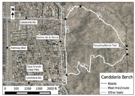 The Candelaria Bench Trail
